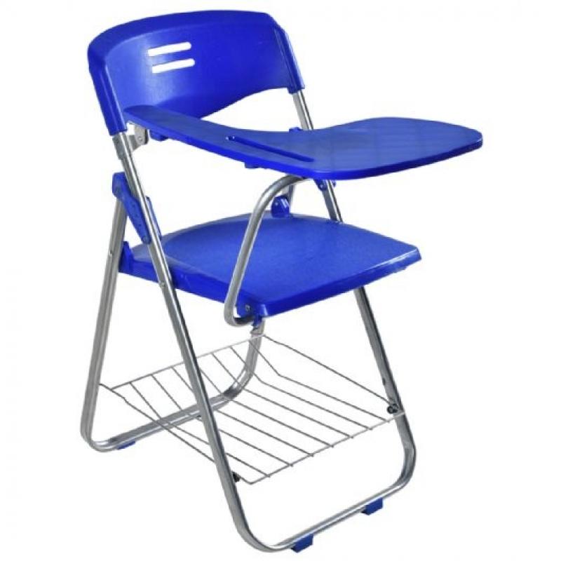 Cadeira Universitária Estofada com Prancheta Escamoteável Petrópolis - Cadeira Universitária Estofada com Prancheta