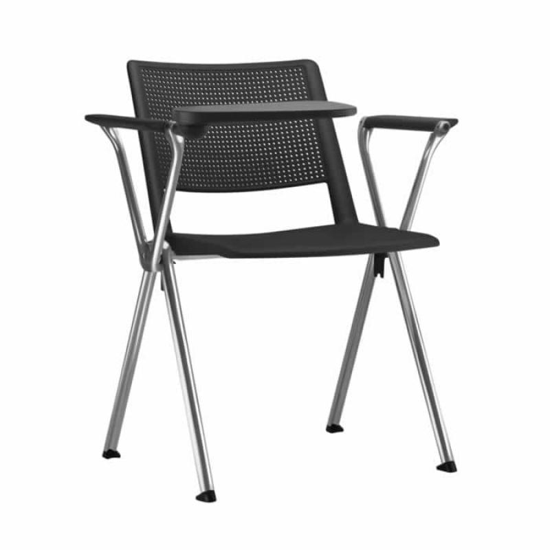 Cadeiras Universitária com Prancheta Dobrável Floresta - Cadeira Universitária Estofada com Prancheta
