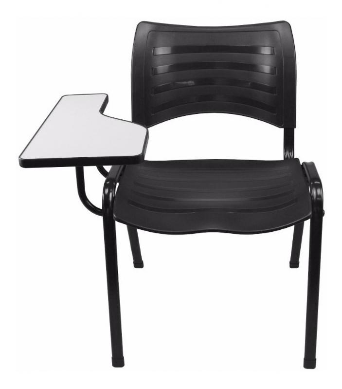 Cadeiras Universitária em Polipropileno Schroeder - Cadeira Universitária Estofada com Prancheta