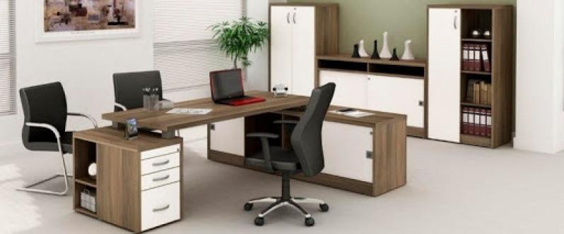 Comprar Estação de Trabalho Home Office Joinville - Estação de Trabalho 4 Lugares