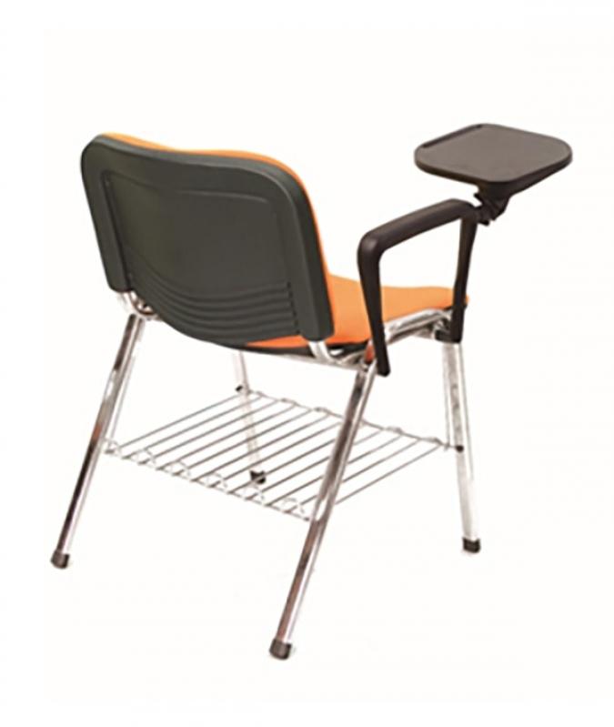 Qual o Valor de Cadeira Universitária com Prancheta Itajaí - Cadeira Universitária Estofada com Prancheta