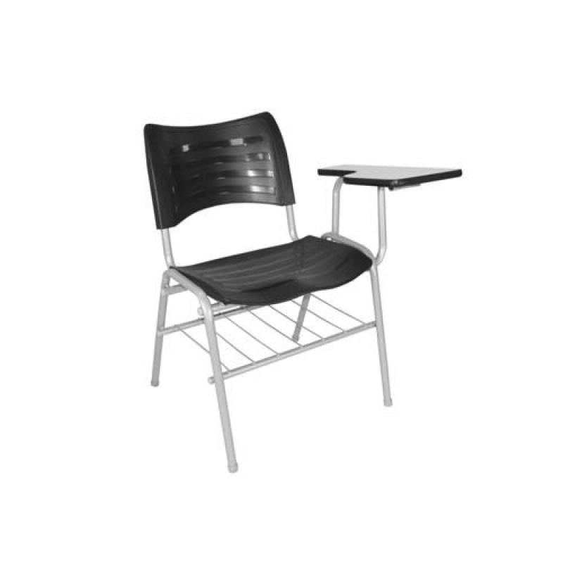 Qual o Valor de Cadeira Universitária Estofada com Prancheta Mafra - Cadeira Universitária Estofada com Prancheta