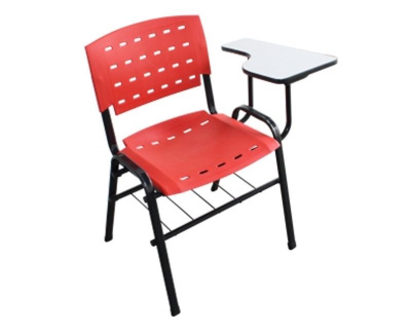 Qual o Valor de Cadeira Universitária Iso Zona Industrial Tupy - Cadeira Universitária Estofada com Prancheta