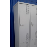 armário de aço para vestiário valor Ubatuba
