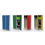 armários de aço 2 portas Blumenau