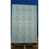 armários de aço para vestiário Jaraguá Esquerdo