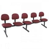 cadeira 3 lugares recepção Paranaguamirim