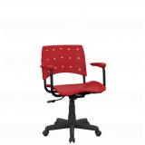 cadeira de escritório giratória Três Rios Norte