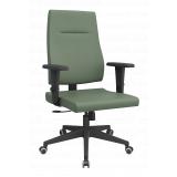cadeira escritório branca preços Monte Castelo