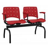 cadeira longarina com braço valor Biguaçú