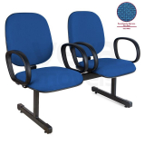 cadeira longarina estofada valor Parque Malwee