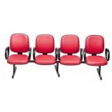 cadeira para sala de espera longarina valor Itaipava