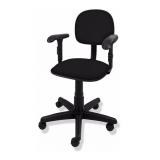 cadeira secretária com braço preço Petrópolis