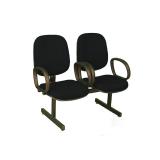 cadeira tripla recepção Brilhante II