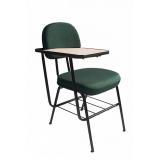 cadeira universitária com prancheta escamoteável cotar São Vicente