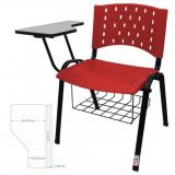 cadeira universitária em polipropileno Centro