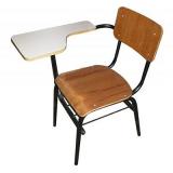 cadeira universitária empilhável cotar Canhanduba