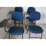 cadeira universitária estofada cotar Garuva
