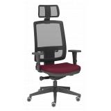 cadeiras escritório branca Baia
