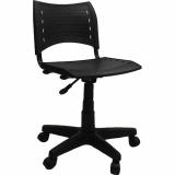cadeiras secretária executiva ergonômica preto Balneário Santa Clara