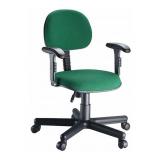 cadeiras secretária fixa estofada Cidade Nova