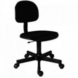 cadeiras secretária giratória com braços reguláveis preta Navegantes