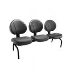cadeiras tipo longarina Guanabara