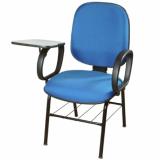 cadeiras universitária azul Praia Brava