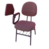 cadeiras universitária estofada com prancheta escamoteável Curitiba