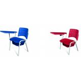 cadeiras universitária estofada Saguaçu