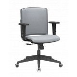 comprar cadeira escritório branca Fazendinha