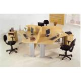 comprar mesas estação de trabalho Santo Antônio