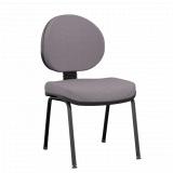 custo de cadeira secretária executiva ergonômica preto Quilometro 12