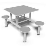 empresa de mesa refeitório para empresas Praia Brava