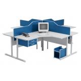 estação de trabalho escritório