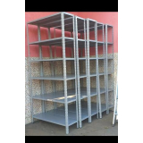 estantes de aço reforçada Timbó