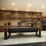 fabricante de mesa de vidro para escritório Tifa Martins