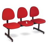 fornecedor de cadeira 3 lugares recepção Itaiópolis