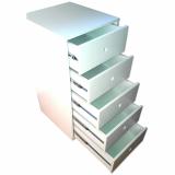 gaveteiro de madeira para escritório preços Brilhante II
