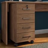 gaveteiros de madeira para escritório Limoeiro