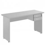 mesa de escritório com gaveta Nova Brasília