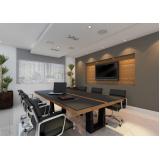 mesa de reunião para escritório sob medida Gaspar