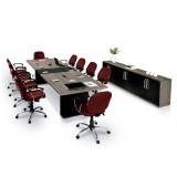 mesa de reunião redonda sob medida São Bento do Sul