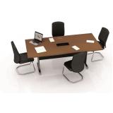 mesa de reunião redonda Pirabeiraba