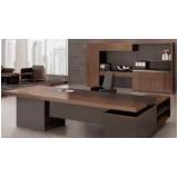 mesa de vidro para escritório sob medida Araquari