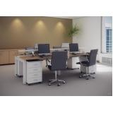 mesa para escritório plataforma 2 lugares valores Rocio Grande