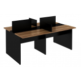 mesa para escritório plataforma 2 lugares Glória