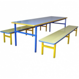 mesa para refeitório 8 lugares Santa Catarina