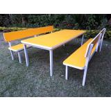 mesa para refeitório industrial preços Jardim Paraíso