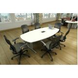 mesa para reunião Rio Cerro II